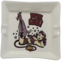 Vince Ray Devil Gurl Small Ashtray