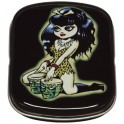 Vince Ray Bongo Girl Kleine Metal Tins
