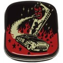Vince Ray Devil Car Kleine Metal Tins
