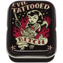 Vince Ray Evil Tattooed Bitch Medium Metal Tins