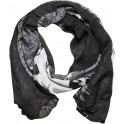 Wildcat® Fashion Feather/ Skull Scarf