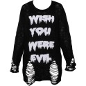 Killstar Wish Knit Girls-Longsleeve